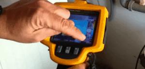 תהליך בדיקת נרטיבות במצלמה טרמית
